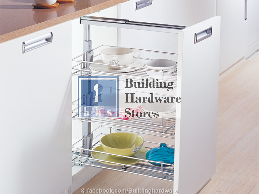 Triple Layer Pull Out Shelf