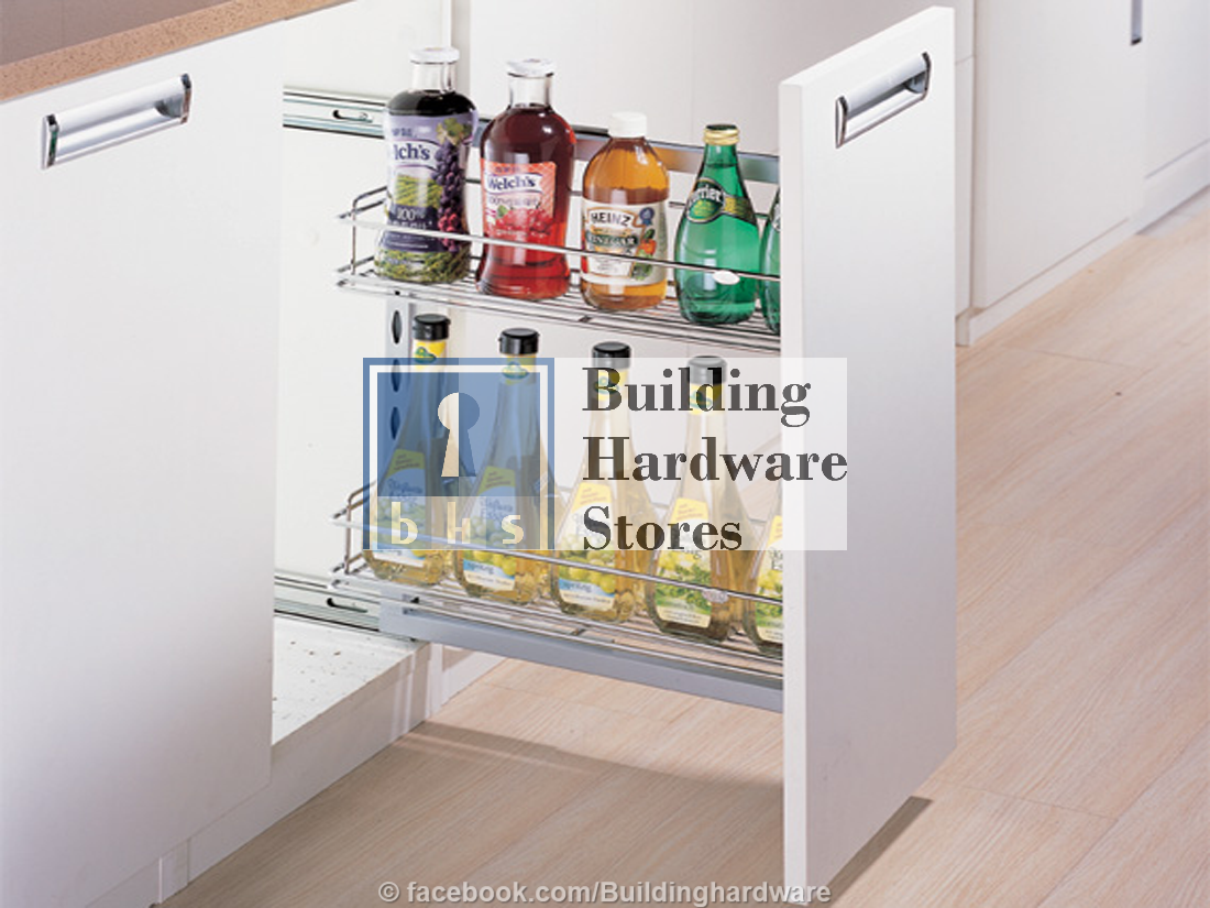 Bottle Rack Side Fixing Soft Closing