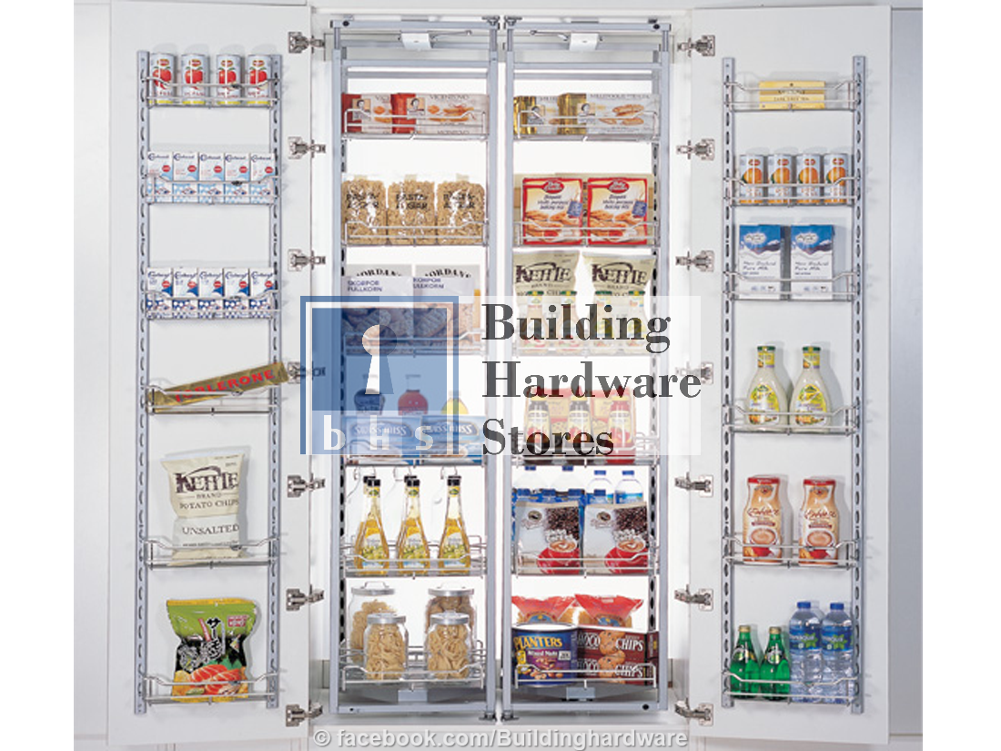 Dual Layer Fridge Type Tall Unit