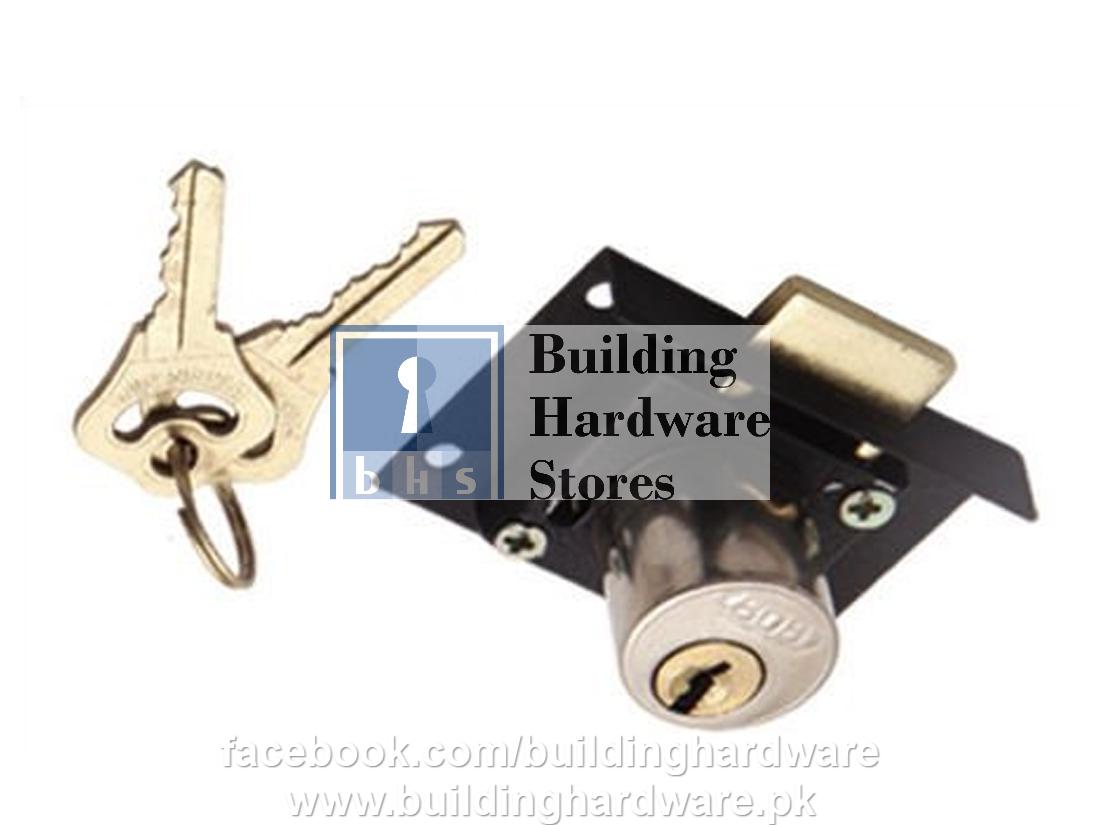 Drawer Lock Recessed Typer Gold Door